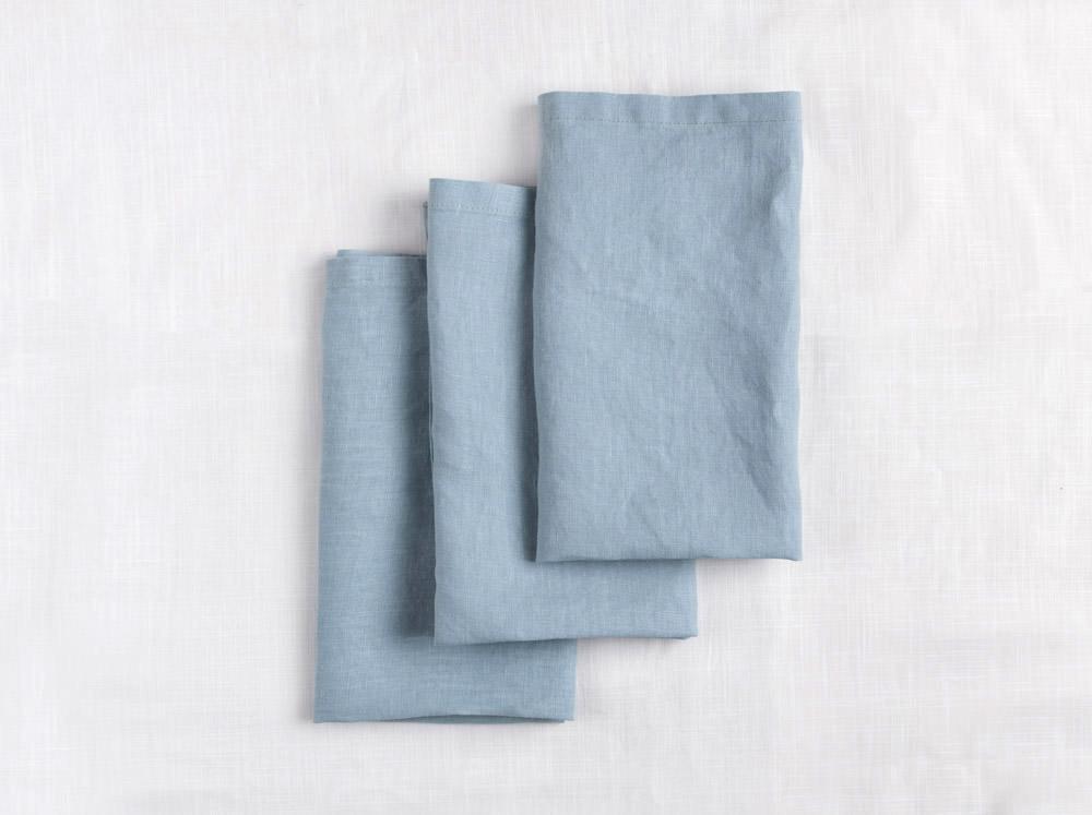 Linen Napkins - Blue