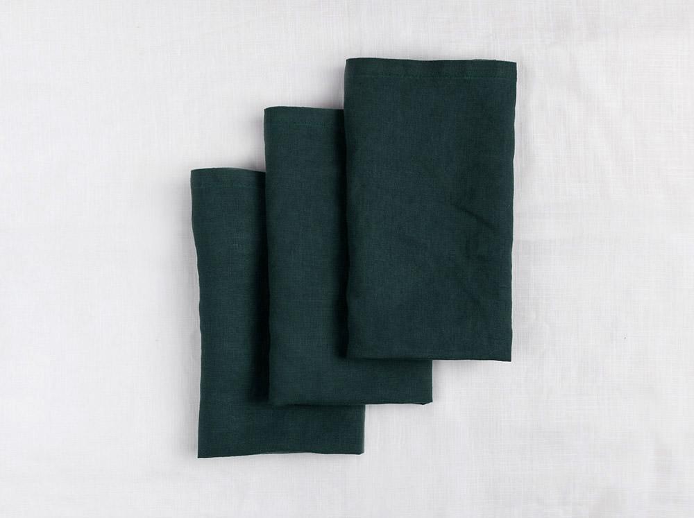 Linen Napkins - Green