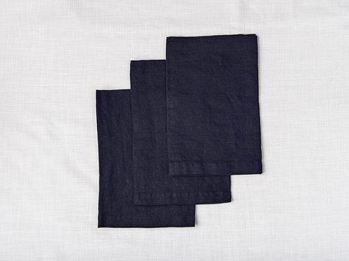 Linen Napkins - Navy