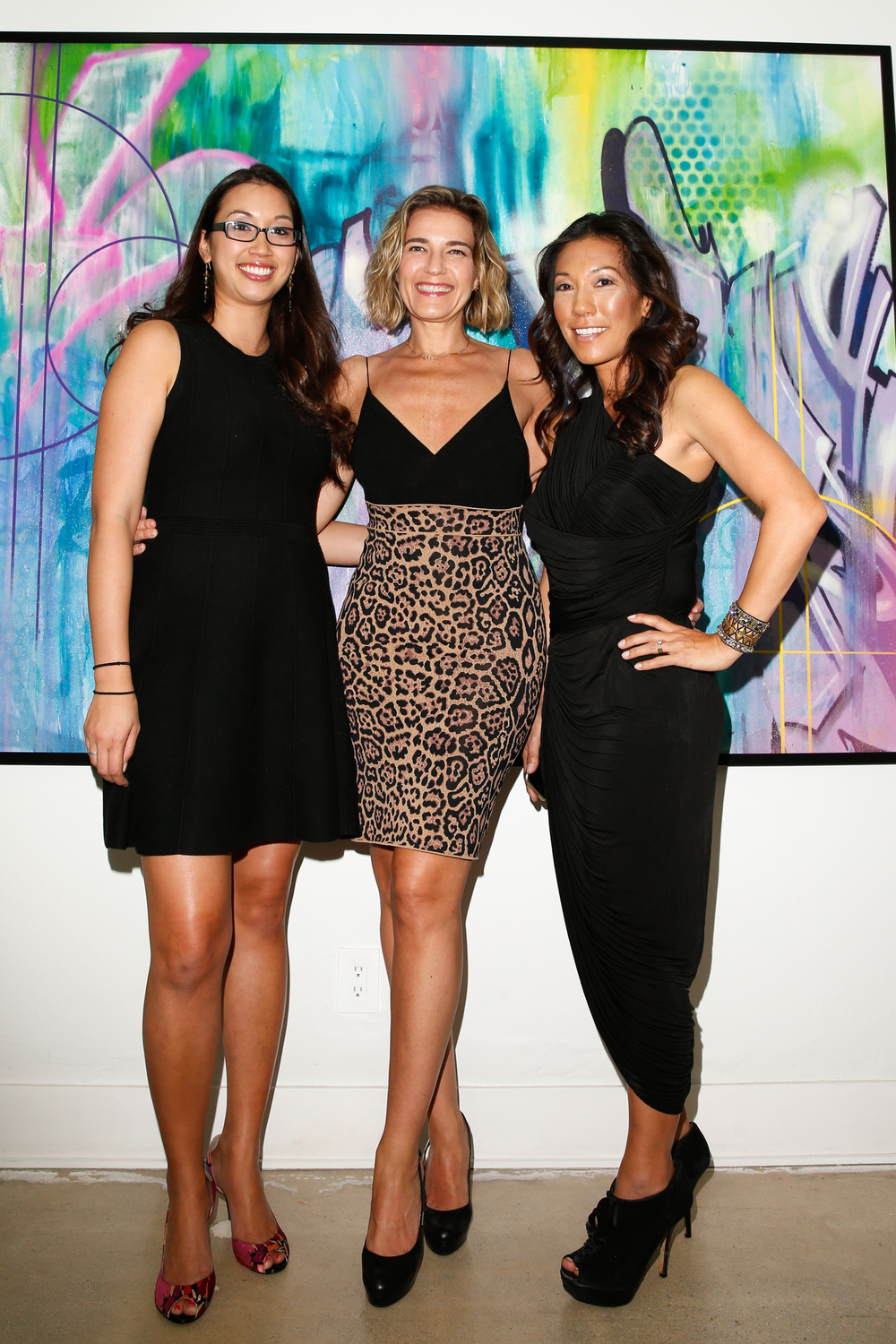 Hobnob Design Lead Tiffany Quezada, Insurge Ent CEO Rachel Sheedy, Hobnob CEO Tina Fitch