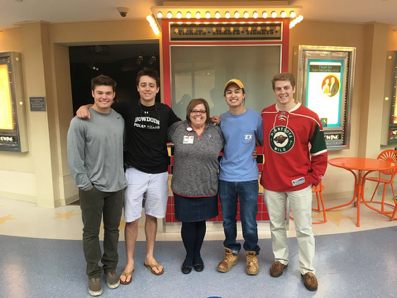 Derby Days chairs with American Family Children's Hospital Representative
