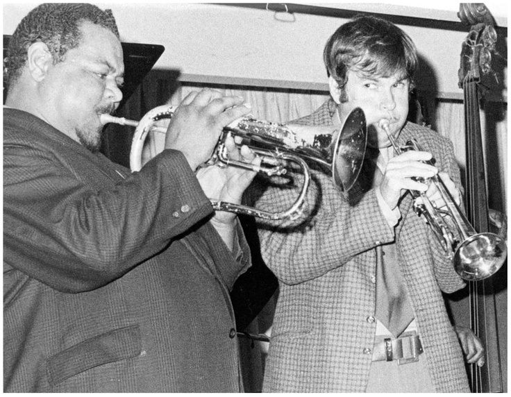 Lennie Johnson playing with Herb Pomeroy, 1970.