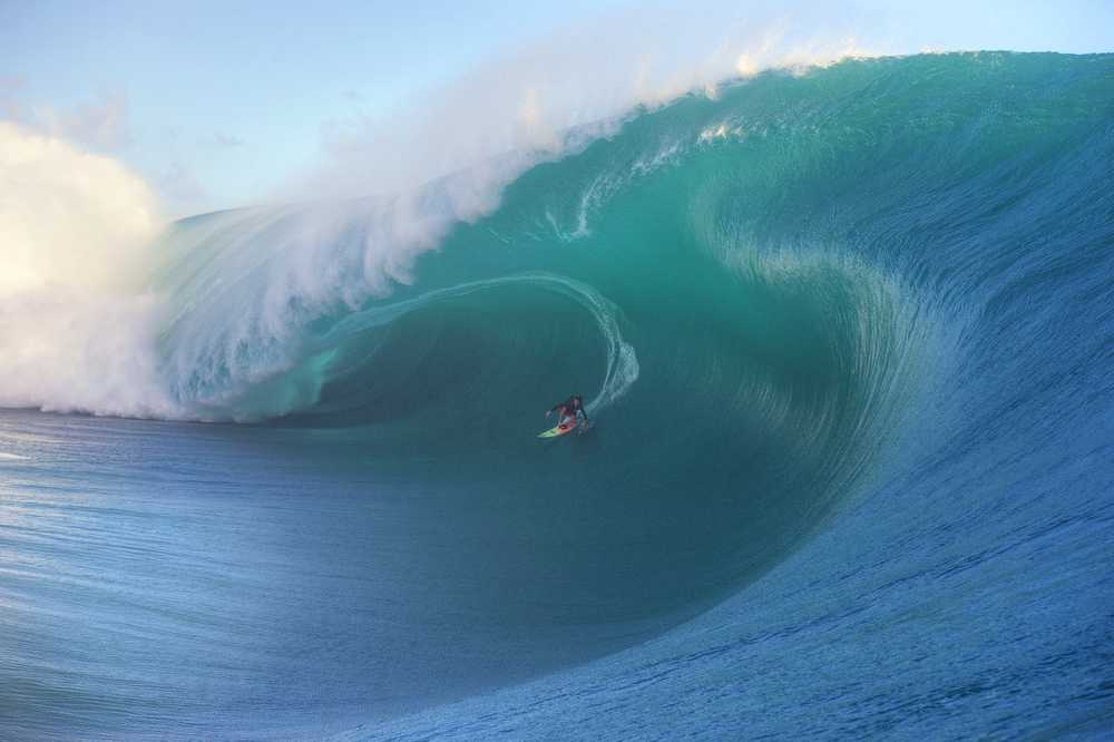 Keala's award-winning wave. Photo: Tim McKenna