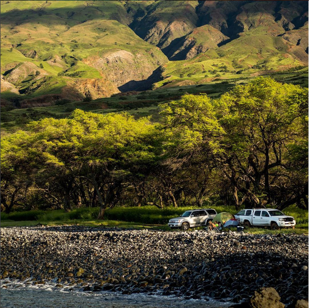 @mauimarcc captures and lives the outdoor Maui life
