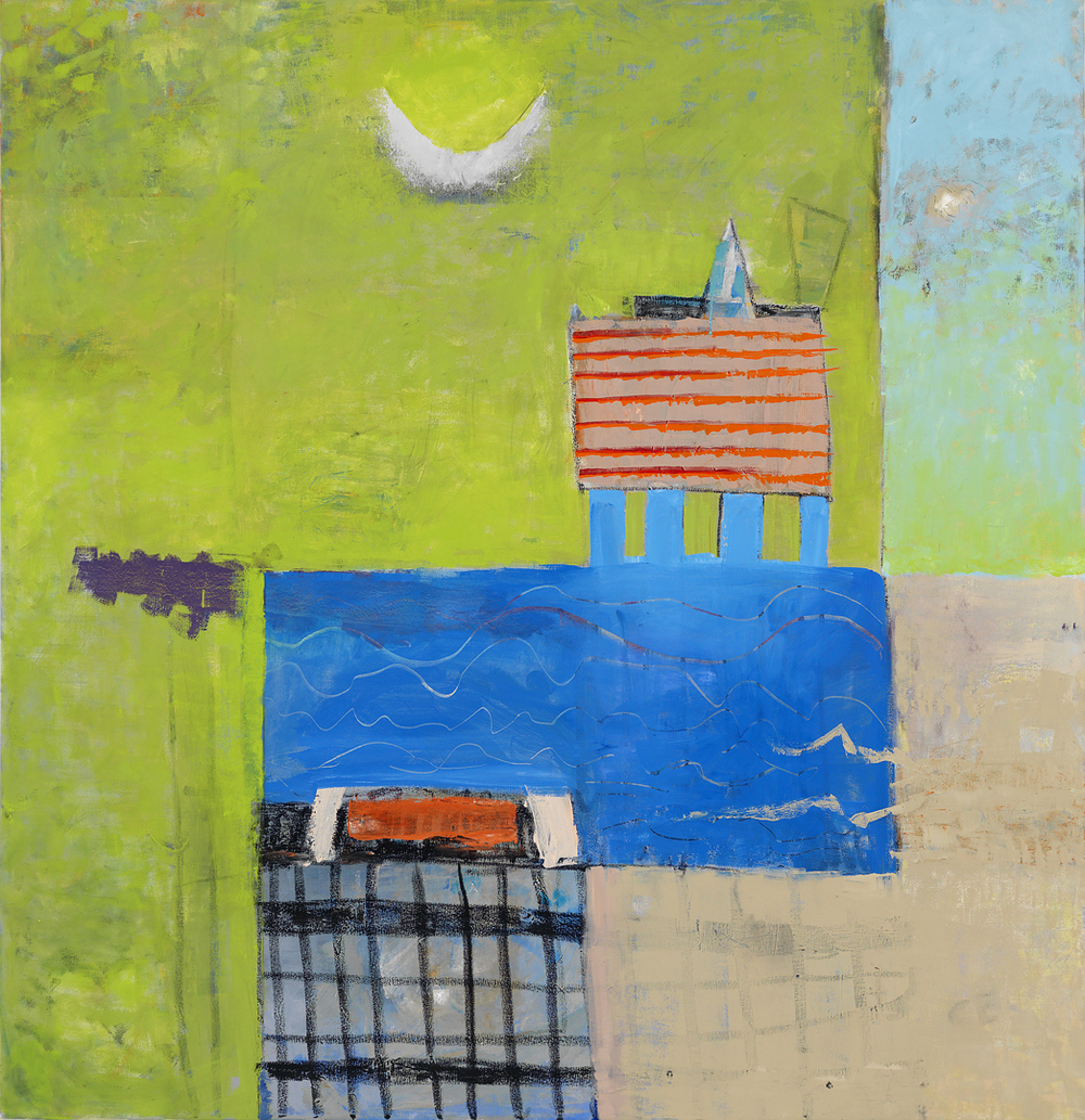 PARTY WITH THE MOON 56X54