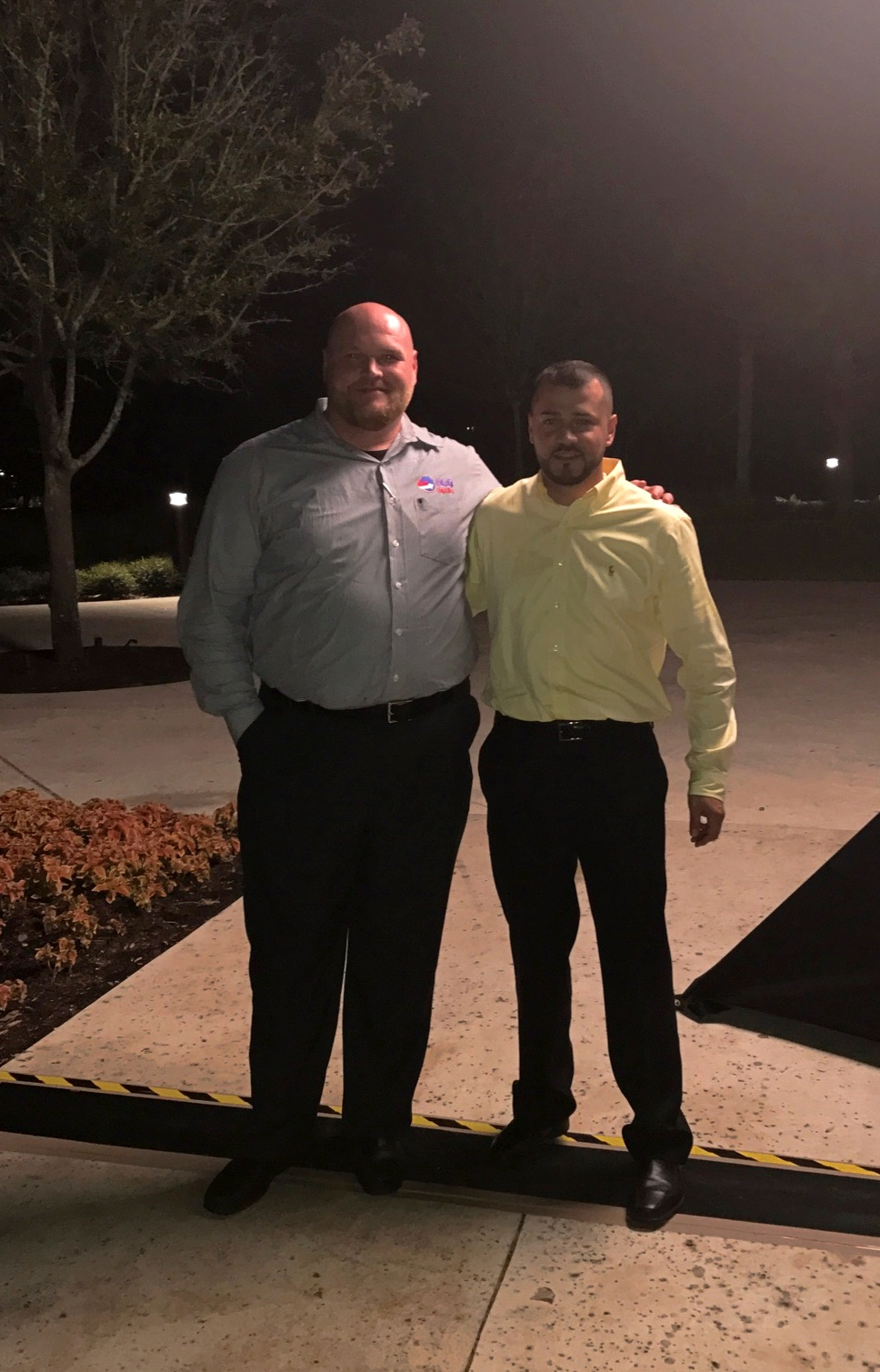 Josh Daniels & Fernando Garcia attending the Furniture World conference in Orlando, FL.