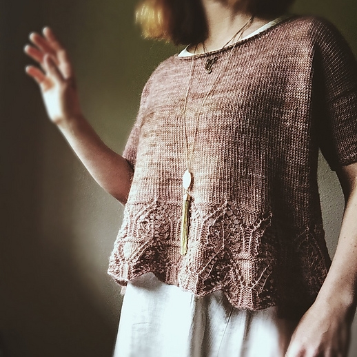 Tegna by Caitlin Hunter Image © Boylandknitworks
