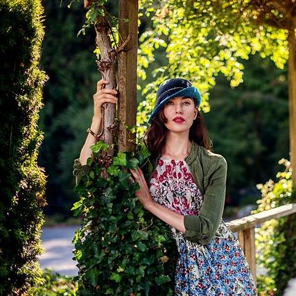 Two Birds Cloche by AbbyeKnits Image © AbbyeKnits