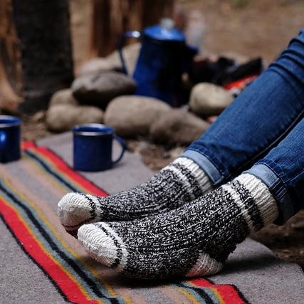 Hyak Socks by Kim Swingle Image © Kim Swingle
