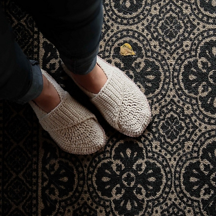 Adult Little Wrap Slippers by Mamachee Image © Mamachee