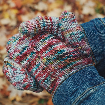 Tinsel Mitts by Andrea Mowry  Image © Andrea Mowry