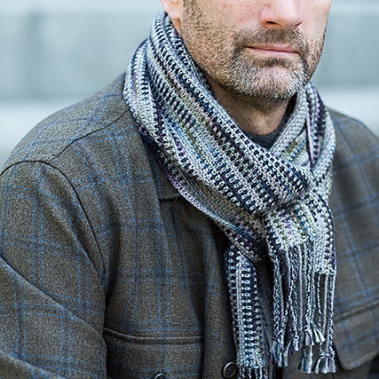 Crochet 'Linen Stitch' Scarf by Churchmouse Yarns & Teas Image © Churchmouse Yarns & Teas