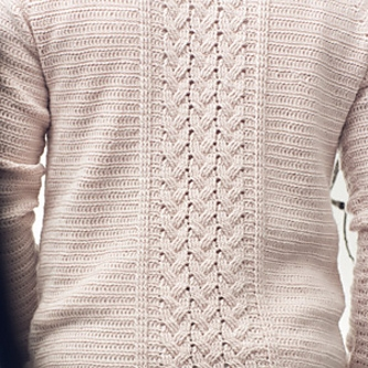 Telegraph Sweater by Peter Franzi Image © Interweave Crochet 2015