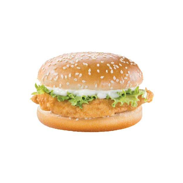 Chicken Sandwich Premium marinated chicken breast, lettuce and mayonnaise make for a taste like no other! _______________________________