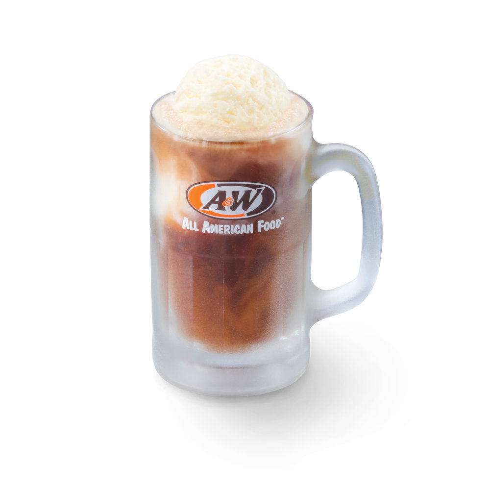 A&W RB with Float   Same full-bodied taste of A&W RB but with a scoop of Float! _______________________________