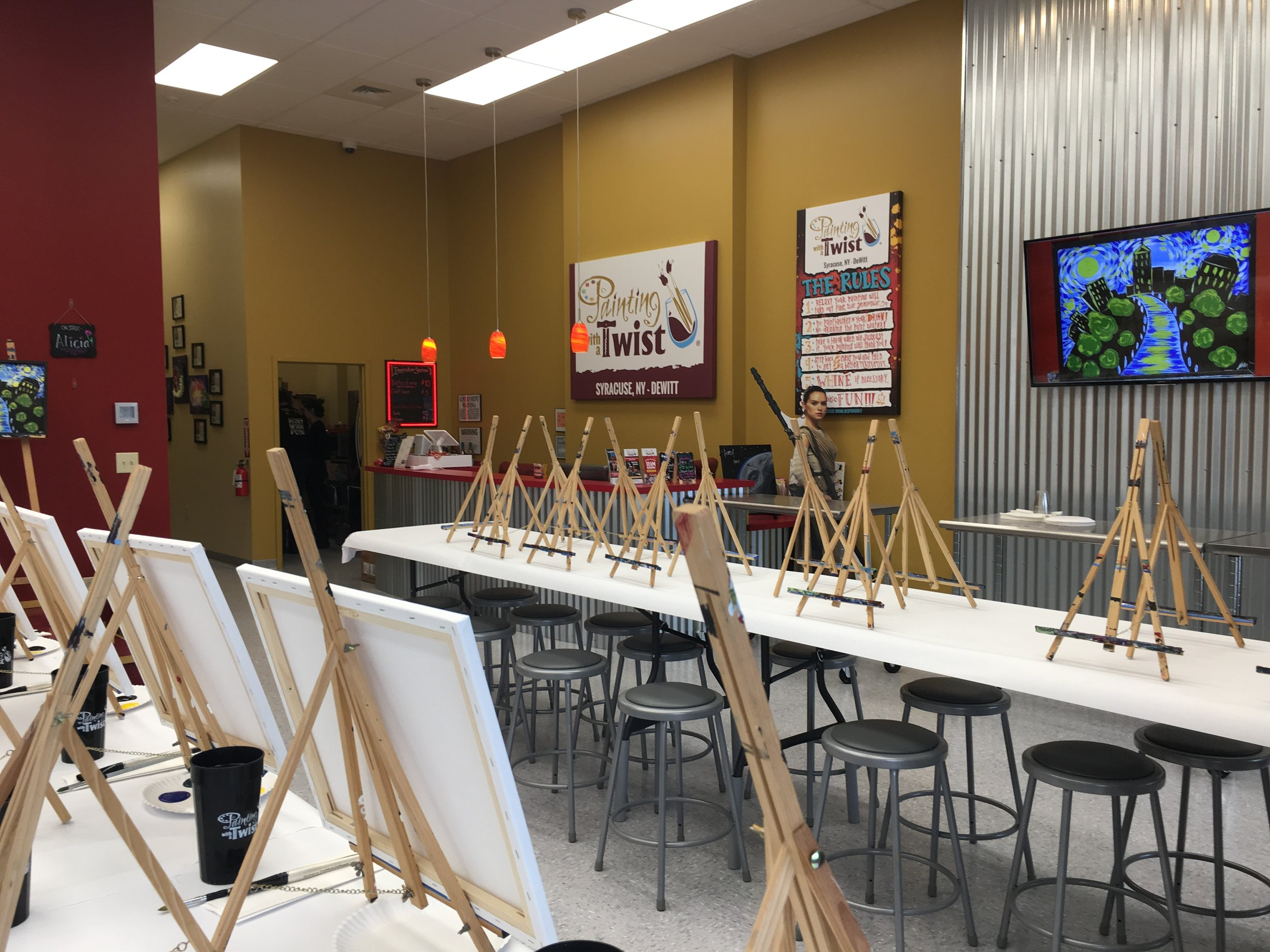 Design Bank Twist.Painting With A Purpose To Benefit The Cny Diaper Bank Cny Diaper Bank