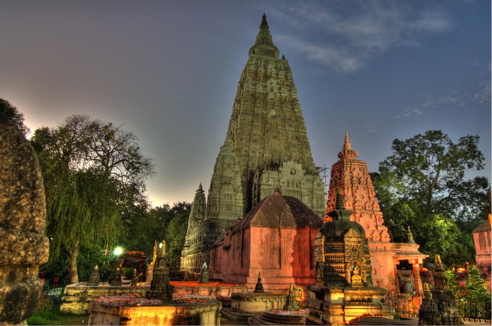 MahaBodhi Temple, Varasana, Bodhgaya, India