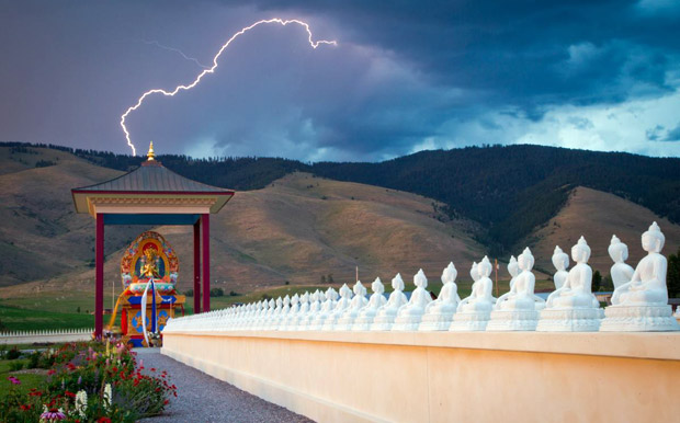 Diamond Lightning at Ewam Buddha Garden