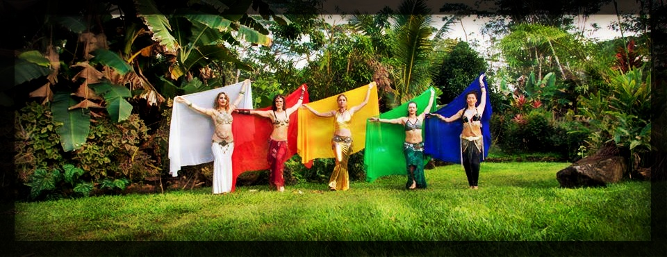 Elemental Wisdom Dakini Dancers.  Essence Gathering: 2, a benefit for the Smiling Lotus Wisdom Stupa