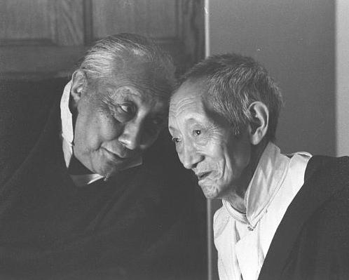 Dilgo Khyentse Rinpoche & Kalu Rinpoche