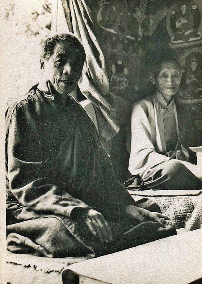 Jadral Rinpoche & Kalu Rinpoche