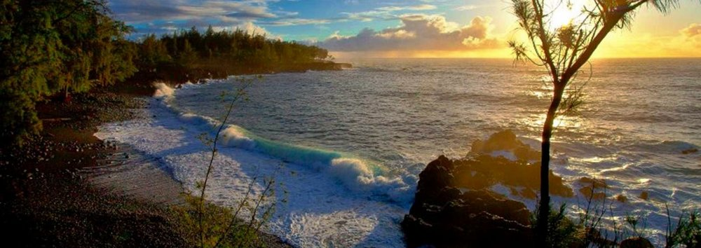 Kehena Beach - Magical coastline of Puna, Big Island Hawai'i