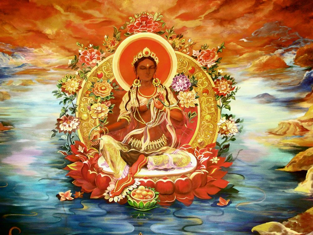 Sambhogakaya Mother Red Tara
