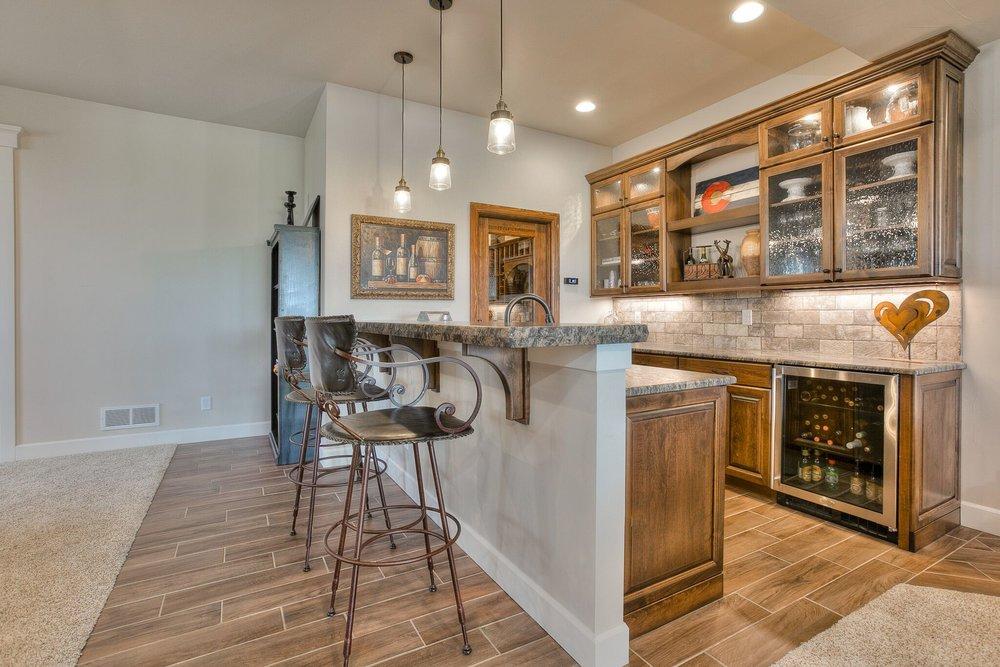 Landmark Homes Synergy Milarc_Cabinets_Basement_Bar_2_11_16 02 Bar ...