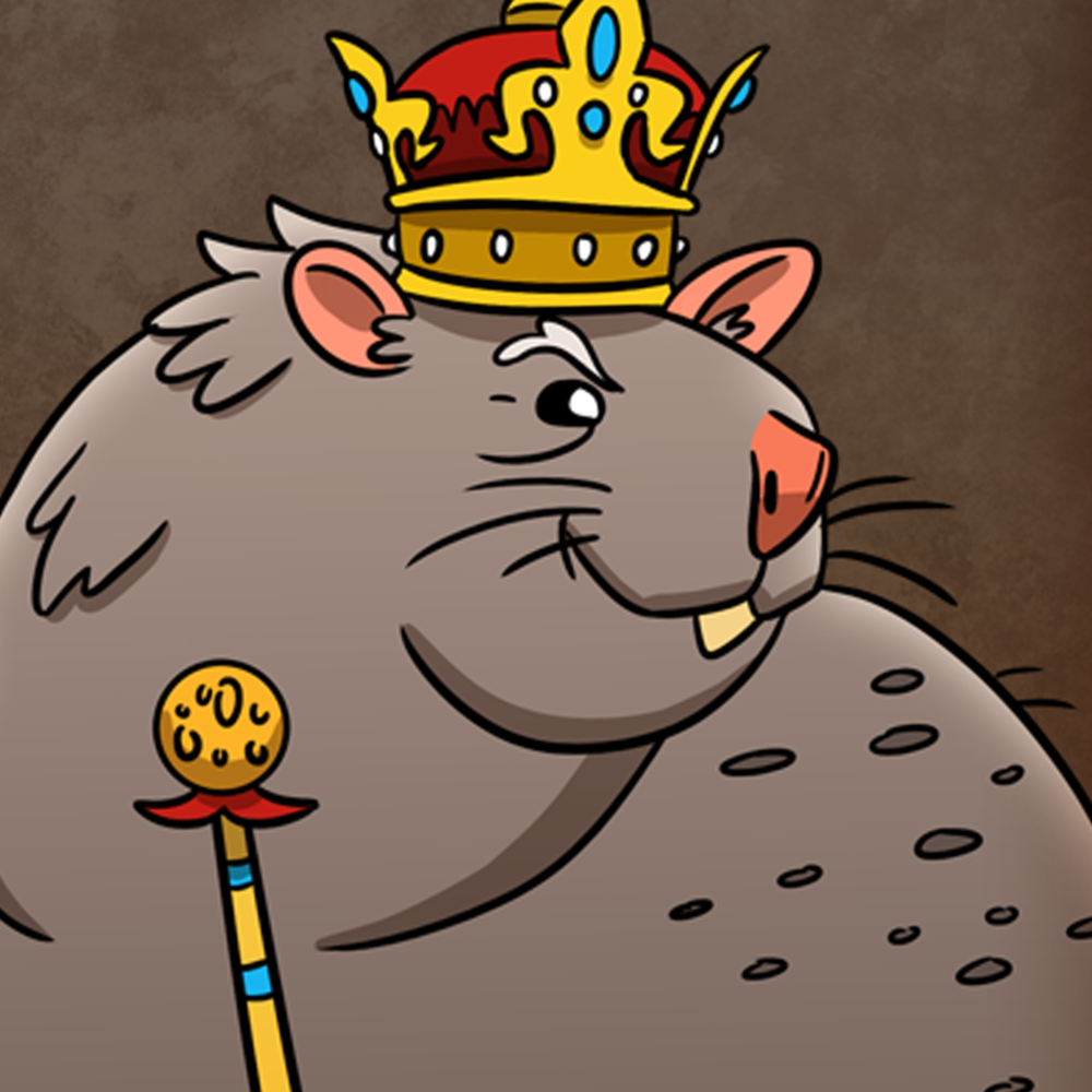 Little Drop of Poison - CARD GAME - Players are rats and weasels locked in a deadly battle with each other and their kings. Each player attempts to gain points by poison their opponents or their furry, yet corrupt, king to death.