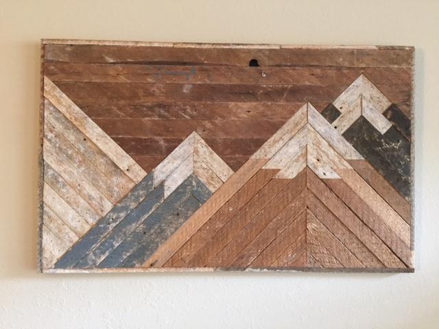 Medium Mountain Scene 18x30  $75