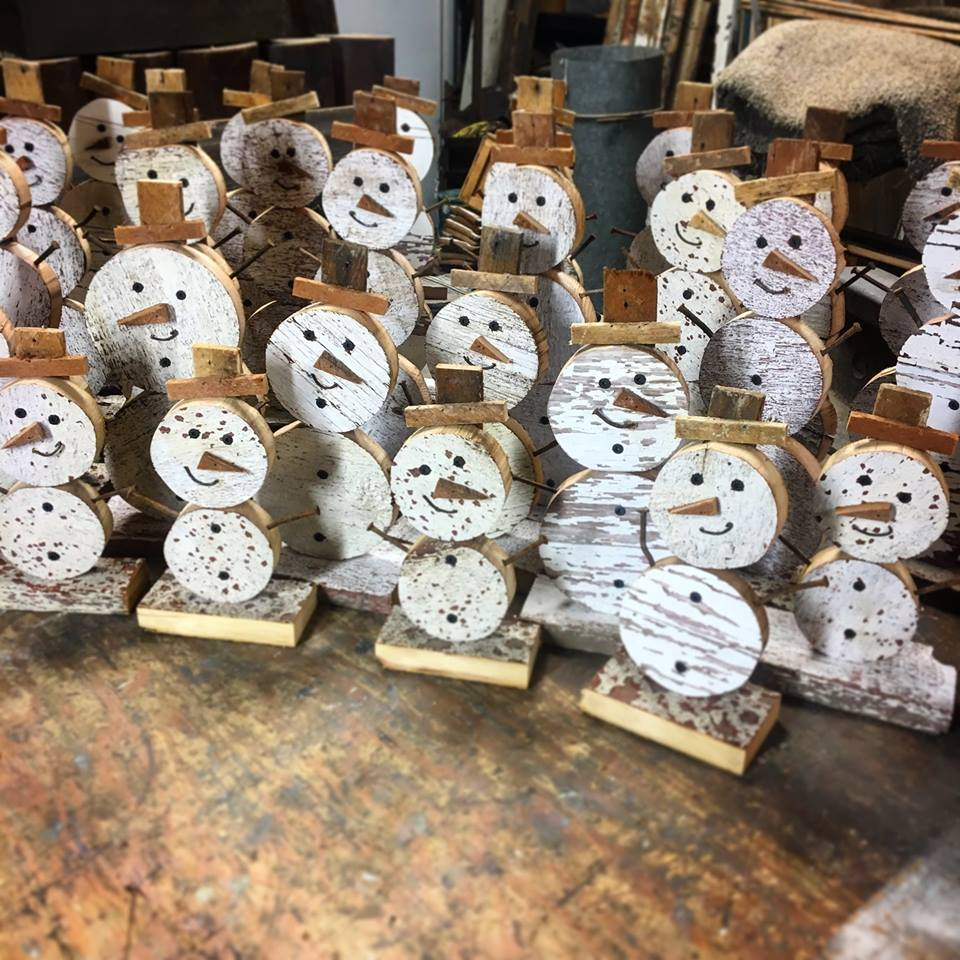 Snow Men  Small-$15 Large-$20
