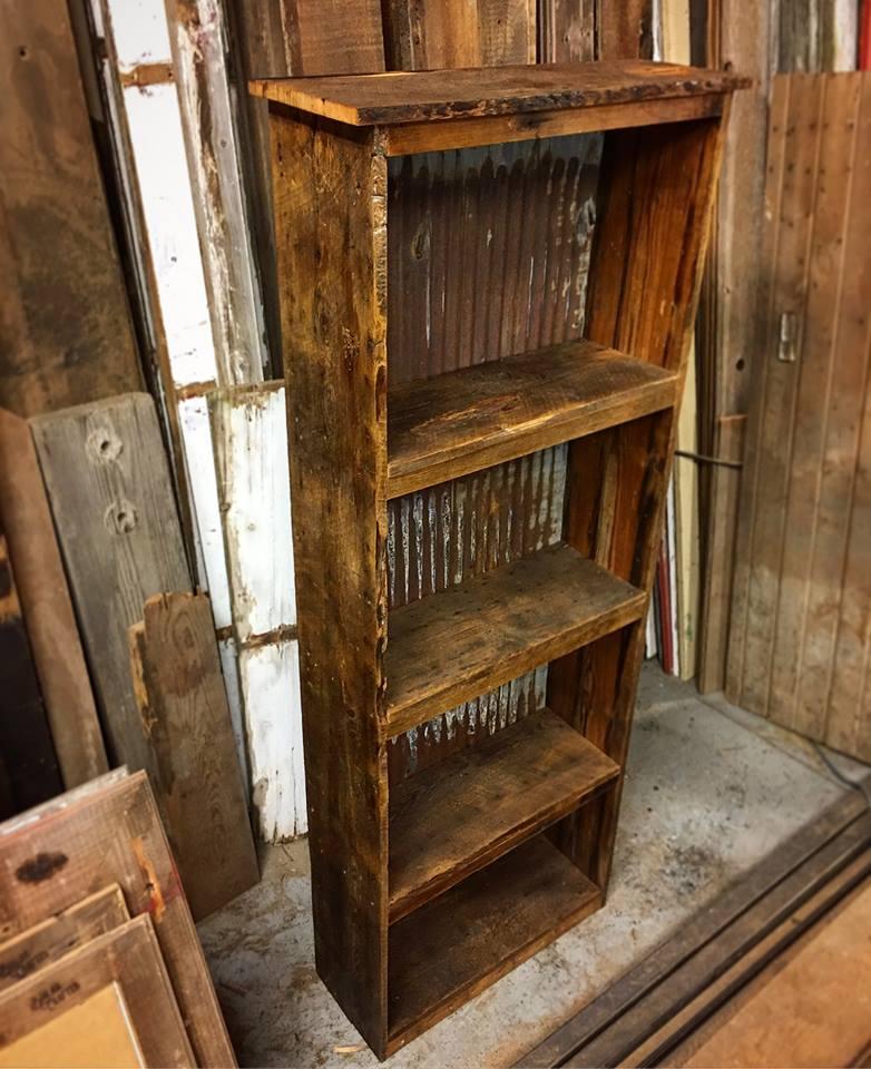 Book Shelf (6 ft tall, 2 ft wide) $115