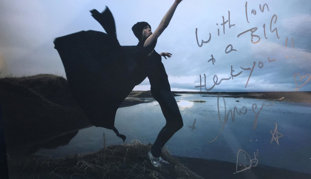 I produced music for Imogen Heap!