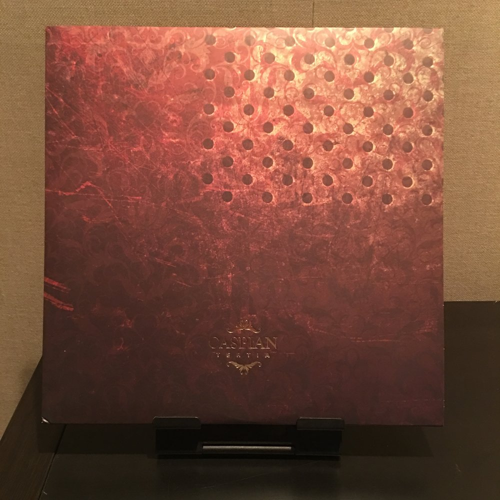 Caspian - Tertia --$10   out of 700. Opaque Maroon vinyl.