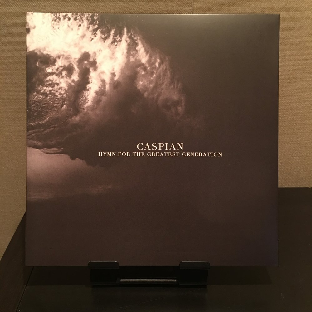 Caspian - Hymn For The Greatest Generation -- $10   out of 250. Dark Purple/Brown vinyl.