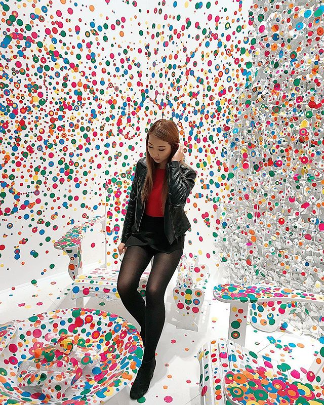"""My life is a dot lost among thousands of other dots."" — Yayoi Kusama 🤔 sounds about right"