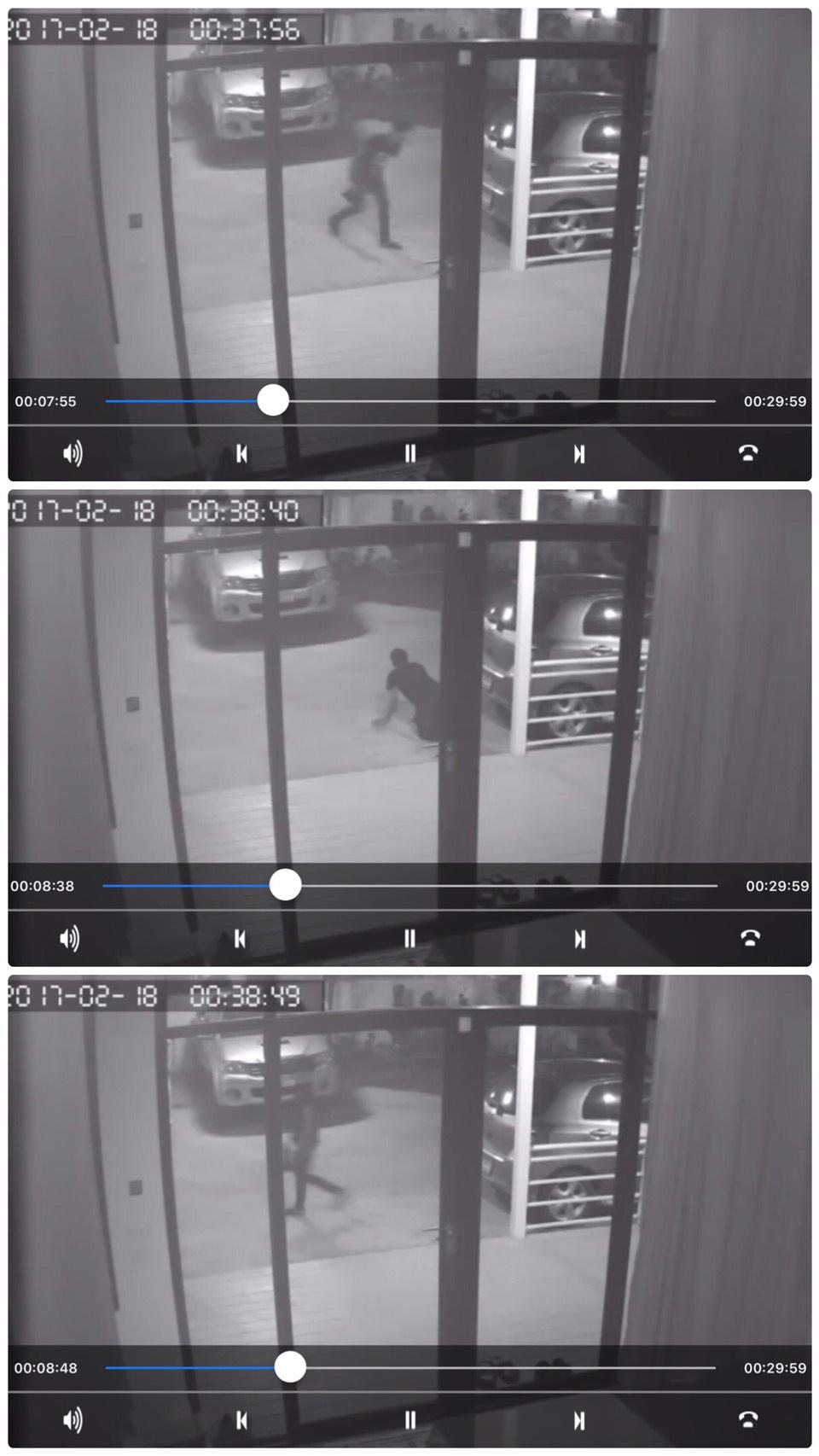 ภาพเหตุการณ์, โจรขโมย, กล้องวงจรปิด, ปกป้องบ้าน, กล้องกันขโมย, ไซเรน, IPcamera, motion sensor, evidence, abt, abthomesmart, WiFicamera, ABG