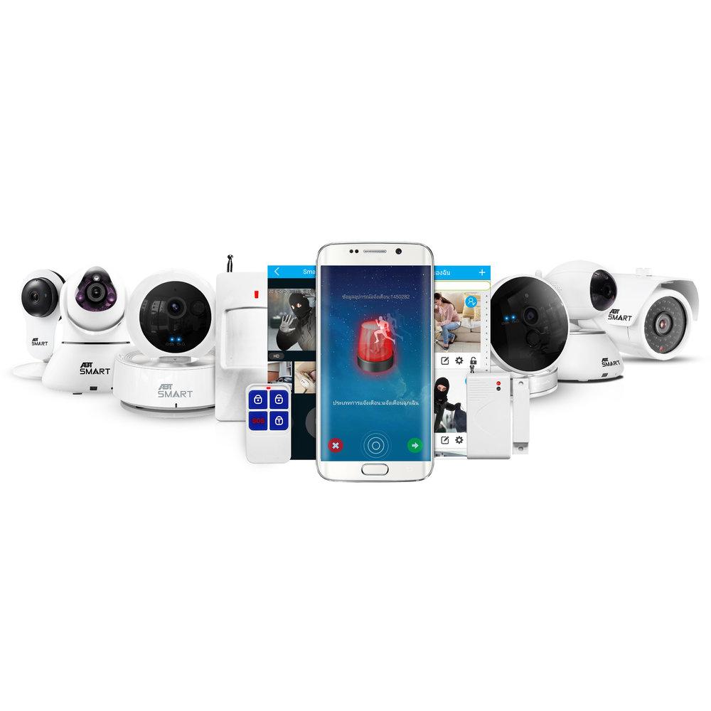 ABT HOME SMARRT, ABT OFFICE SMART, CCTV, POE กล้องกันขโมย, กล้องวงจรปิด, กล้องWiFi