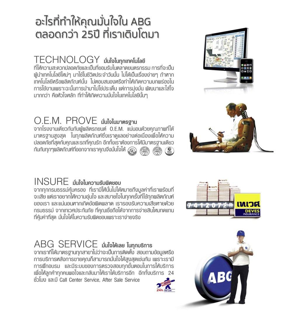 ABT, ABG, กันขโมยรถยนต์, จีพีเอสติดตามรถยนต์, กล้องวงจรปิด, กล้องWiFi, POE, CCTV