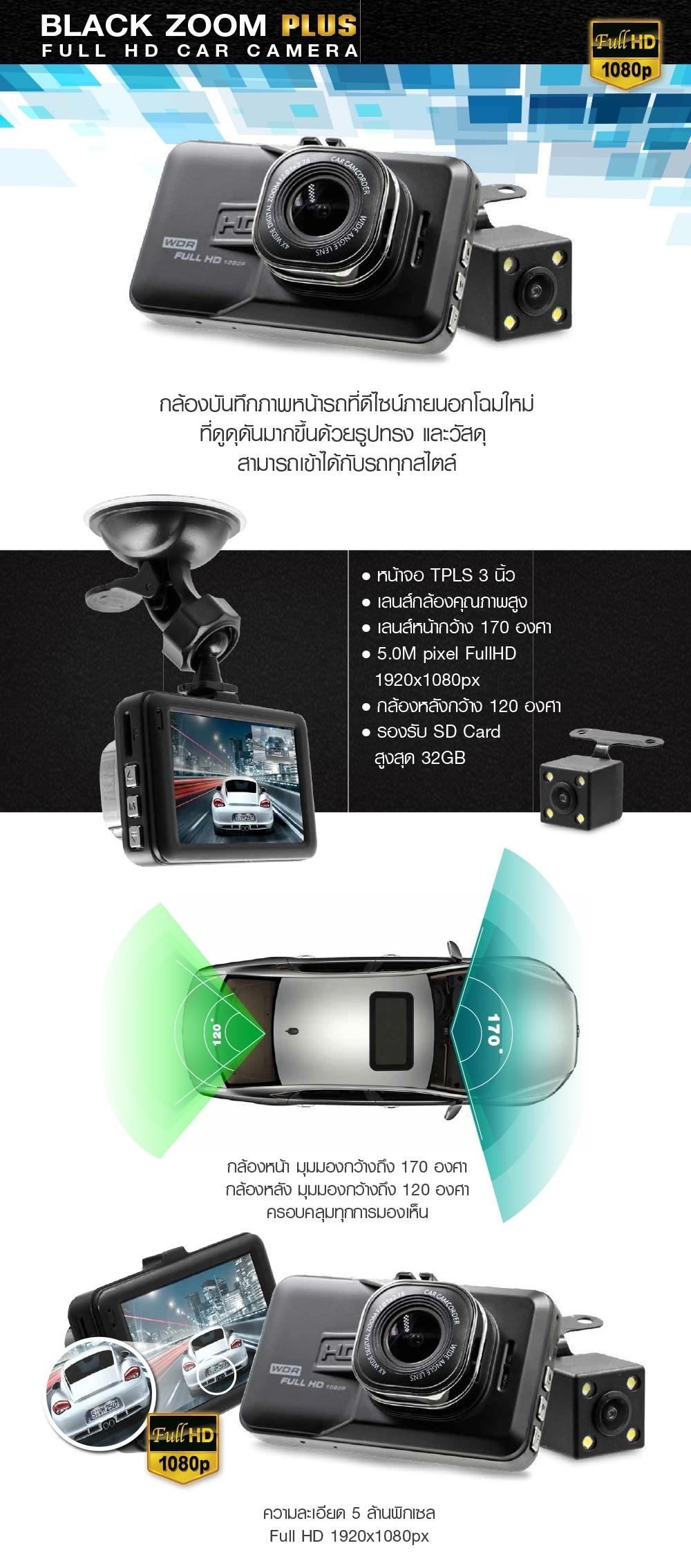 กล้องบันทึกภาพหน้ารถ, กล้องหลัง, กล้องติดรถยนต์, ABT SMART, ABG