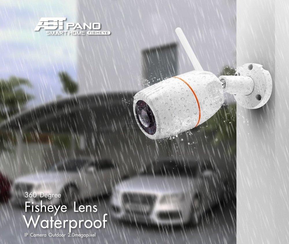 ABT SMART PANO, LEN360, FISHEYE, CCTV, WiFi camera, กล้องวงจรปิด, กล้องไวไฟ, กล้องกันน้ำ,เลนส์กว้าง, เลนส์วาย
