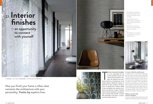 I Wrote This Editorial Article For The Design Guide Magazine A General Introduction About What To Expect When Engaging An Interior Designer