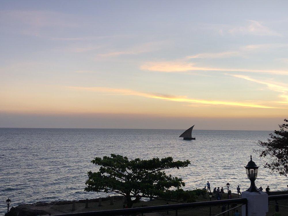 Sunset Boat Cruise, Kendwa