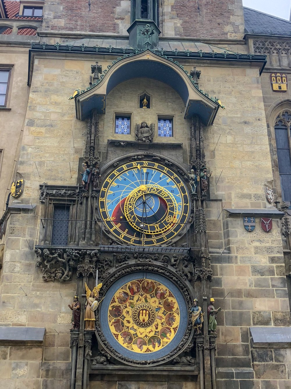 Astronomical clock, Old Square
