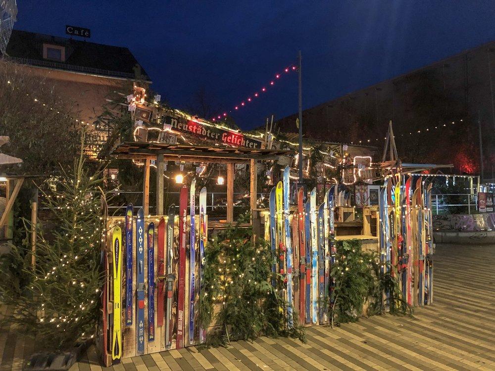 Alternative Christmas market, Dresden Neustadt