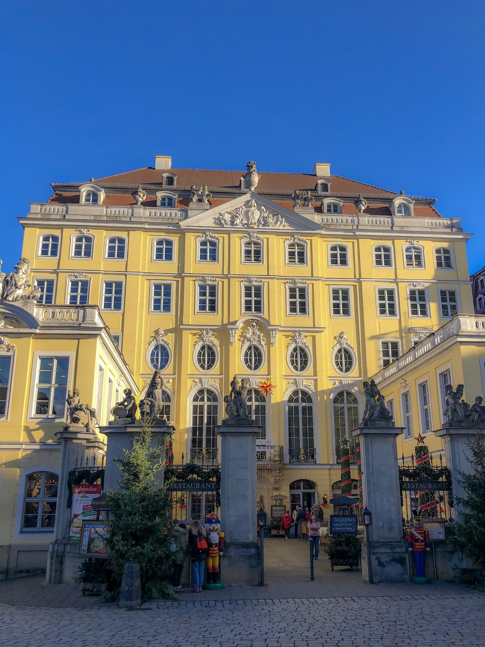 Coselpalais, Old Town