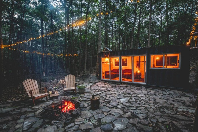 Photo Courtesy of Cabin in the Catskills