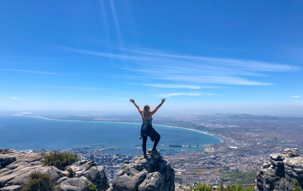 Top of the Table Mountain, Cape Town