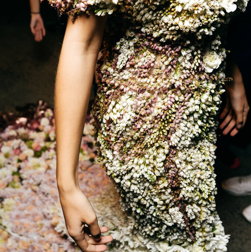 Fresh Flower Dress - New Zealand Fashion Week