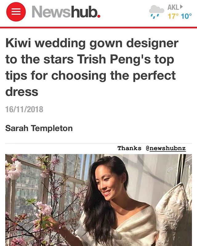 Thank you @newshubnz 🙌🏻 Hop onto our story to view the link 💍 @lilyandlouis